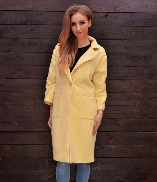 Пальто из кашемира модное