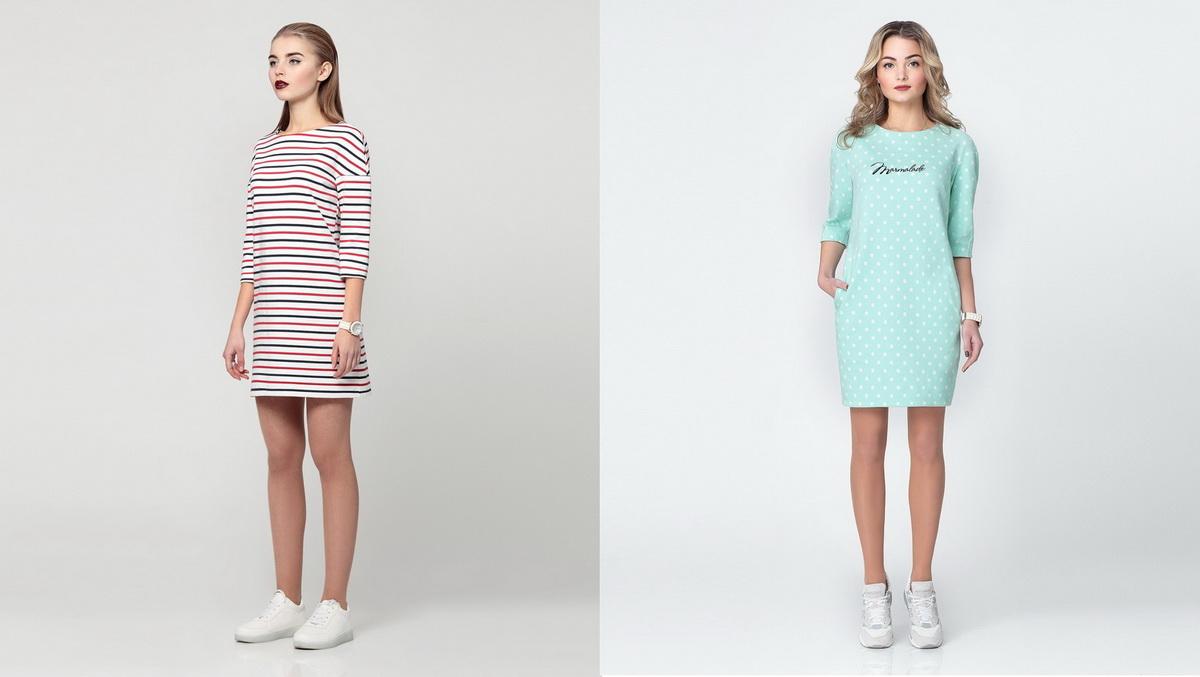 Платья молодежные на осень